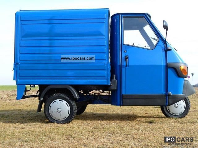 2012 Piaggio  APE 50 box with additional features Other Used vehicle photo