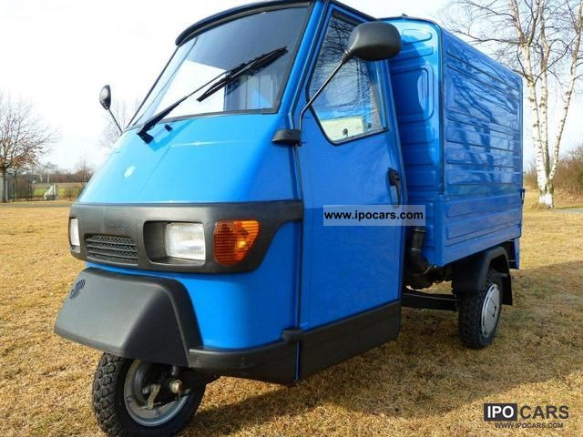 2012 piaggio ape 50 box with additional features car photo and specs. Black Bedroom Furniture Sets. Home Design Ideas