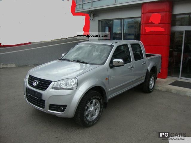 2012 Asia Motors  Great Wall Steed-150 2.0 diesel PS-NEU-FAH fx Off-road Vehicle/Pickup Truck Used vehicle photo