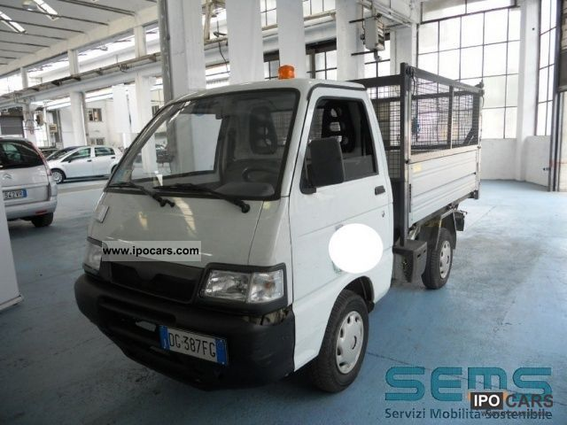 Piaggio  Porter Tipper elettrico 2007 Electric Cars photo