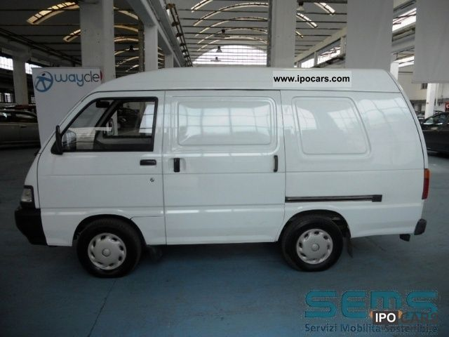 Piaggio  Porter Blind Van elettrico 2007 Electric Cars photo