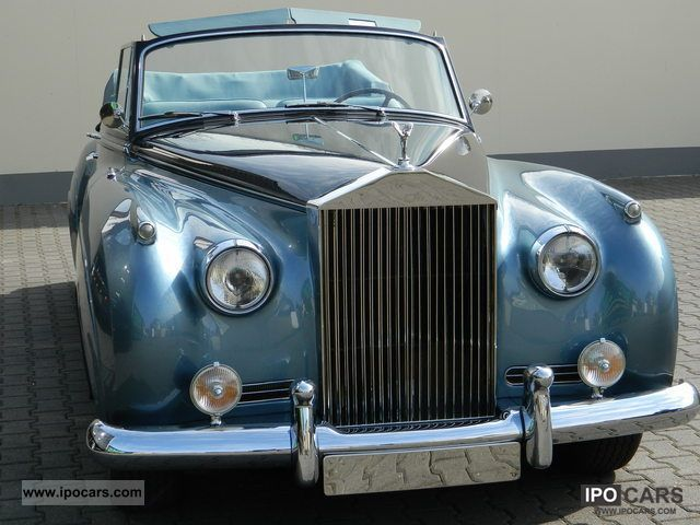 Rolls Royce  Silver Cloud I Convertible 1957 Vintage, Classic and Old Cars photo