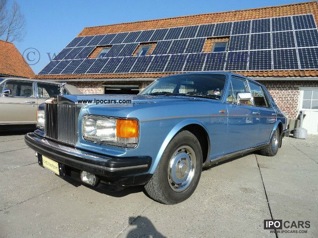 1981 Rolls Royce  Blue Silver Spirit 1981 Small Car Used vehicle photo