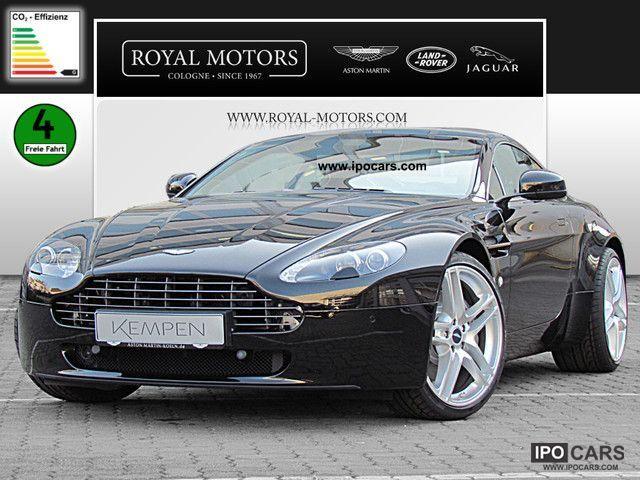 2012 Aston Martin V8 Vantage Coupe Car Photo And Specs