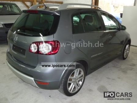 2007 volkswagen golf plus 2 0 tdi cross golf climatronik car photo and specs. Black Bedroom Furniture Sets. Home Design Ideas
