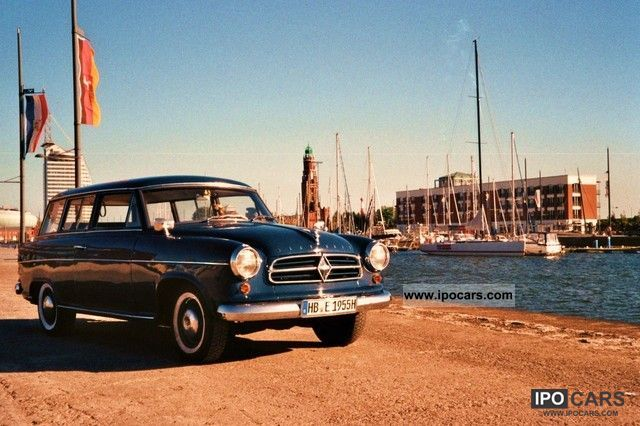 Borgward  Isabella 1500 Combi 1955 Vintage, Classic and Old Cars photo