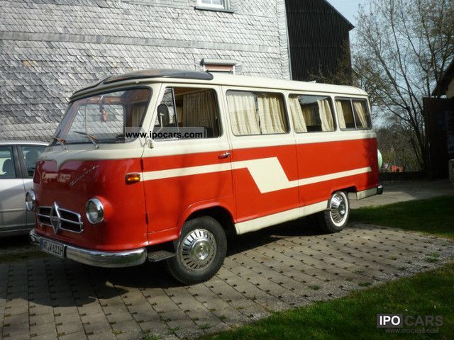 Borgward  BO 611-0, RV 1960 Vintage, Classic and Old Cars photo