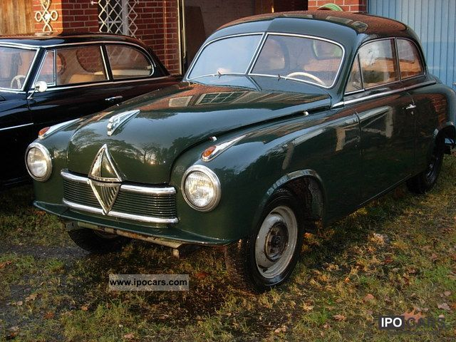 Borgward  Hansa 1800 1953 Vintage, Classic and Old Cars photo