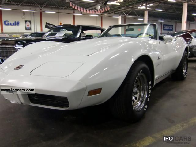 1973 corvette c3 convertible car photo and specs. Black Bedroom Furniture Sets. Home Design Ideas