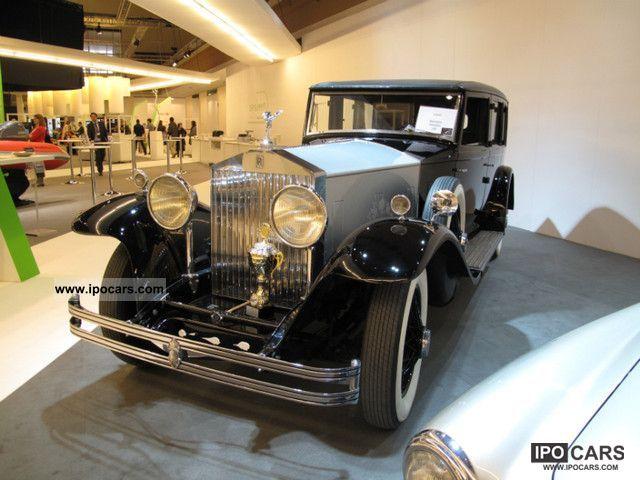 Rolls Royce  Phantom II 1932 Vintage, Classic and Old Cars photo