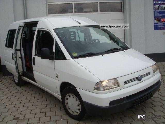 2002 Fiat Scudo 585 0 9 Sitzer Only 119 223 Km Car