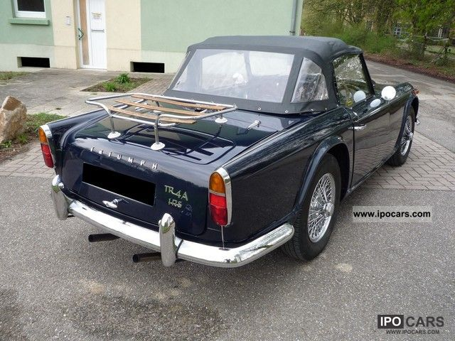 Triumph  Belle TR4A 1967 Vintage, Classic and Old Cars photo