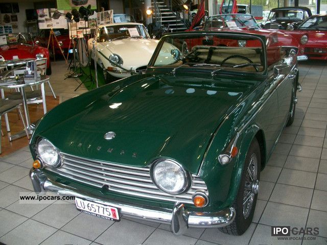 Triumph  TR4 IRS 1965 Vintage, Classic and Old Cars photo