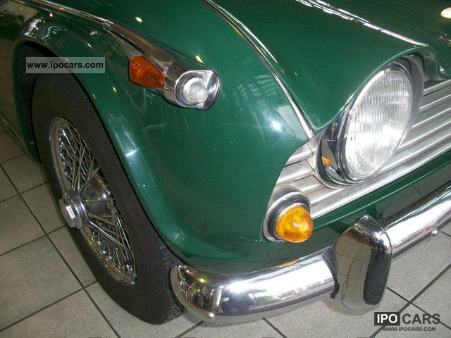 triumph tr irs car photo  specs