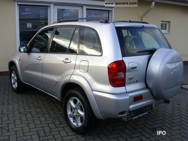 2002 Toyota Rav4 D 4d 4x4 Special Car Photo And Specs