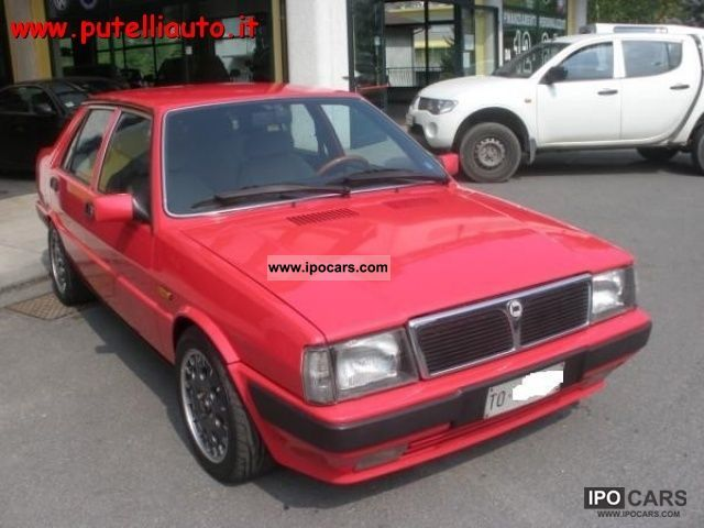 Prism Car: 1987 Lancia Prism 2.0i.e. Turbo 4wd