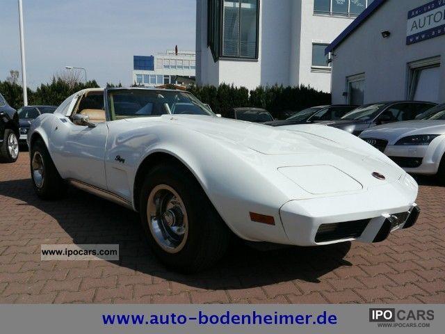 1975 Corvette  C3 Stingray Targa 5.7 V8 4-Speed/Handshift Sports car/Coupe Classic Vehicle photo