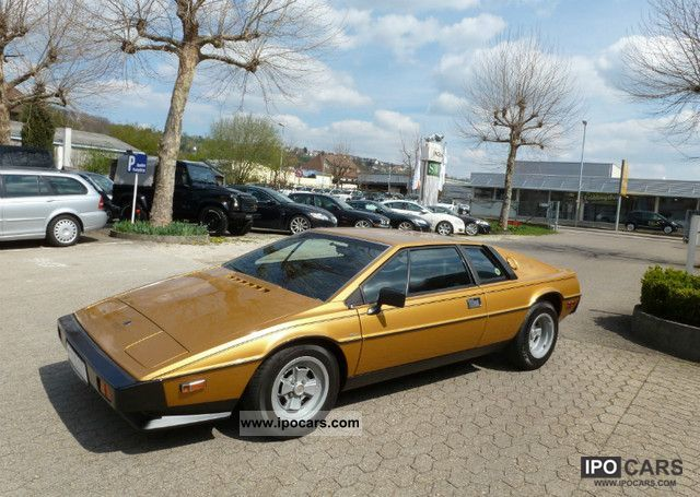 1979 Lotus  Esprit S2, LHD in very good condition Sports car/Coupe Used vehicle photo