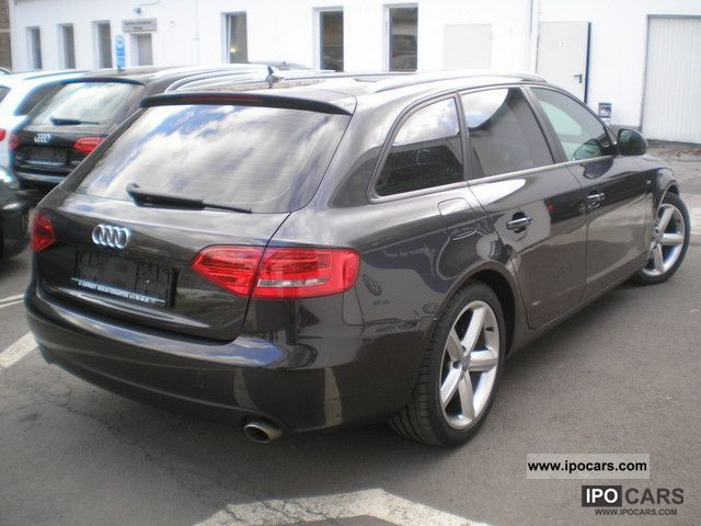 2008 audi a4 2 7 tdi dpf s line sport package plus navi sd car photo and specs. Black Bedroom Furniture Sets. Home Design Ideas