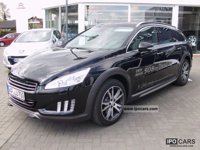 2012 peugeot 508 rxh diesel hybrid car photo and specs. Black Bedroom Furniture Sets. Home Design Ideas