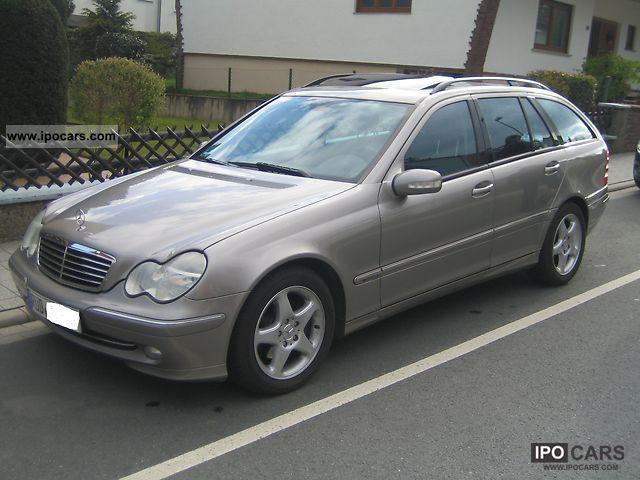 2004 Mercedes Benz C 180 Kompressor Avantgarde S Roof Navi