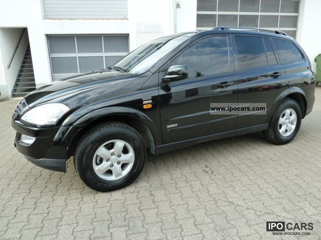 2008 Ssangyong  Kyron M 320 AWD all-wheel Off-road Vehicle/Pickup Truck Used vehicle photo