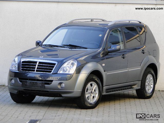 2007 ssangyong rexton rx 270 automatic xdi winter edition. Black Bedroom Furniture Sets. Home Design Ideas