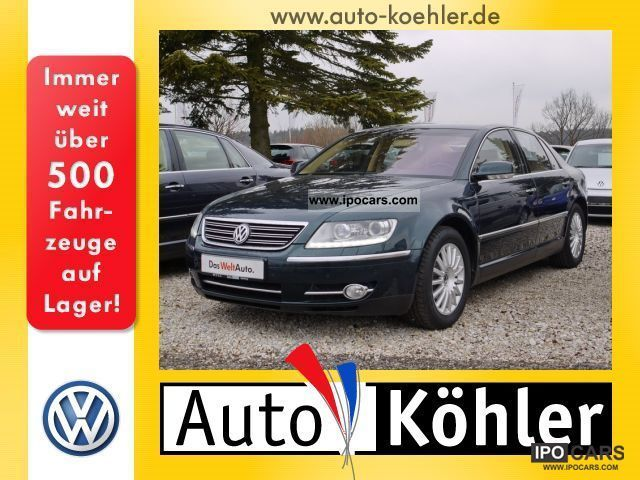 2008 Volkswagen  Phaeton 4.2 V8 luxury seats Limousine Used vehicle photo
