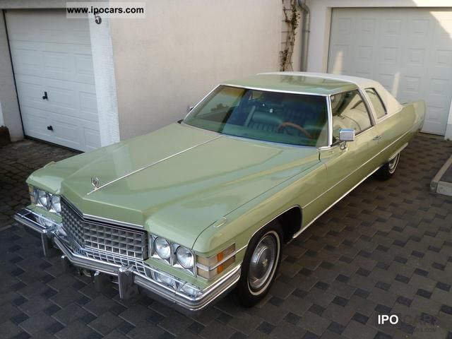 1974 Cadillac  Deville Sports car/Coupe Classic Vehicle photo