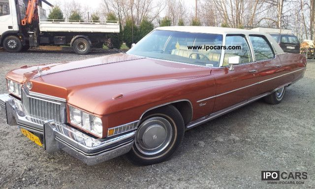 Cadillac  Fleetwood 1973 Vintage, Classic and Old Cars photo