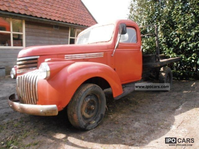Chevrolet  pickup fladbed 1941 Vintage, Classic and Old Cars photo