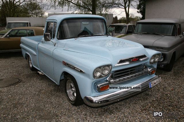 Chevrolet  Apache Pickup 454 V8 7.5 liter Bigblock H Zulassu 1959 Vintage, Classic and Old Cars photo