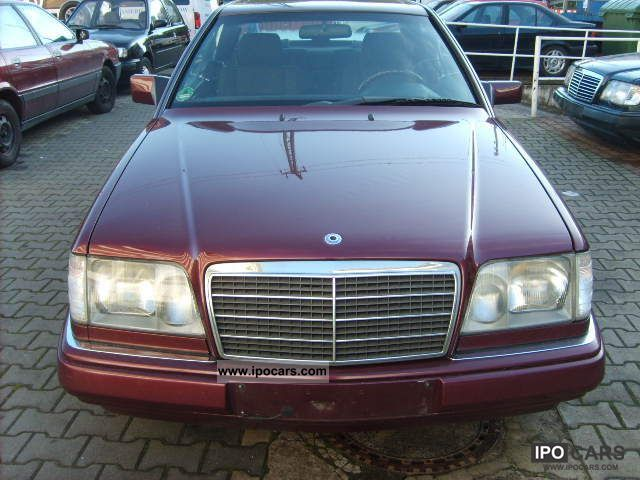 1996 Mercedes-Benz  E-200 C AUTOMATIC - TOP CONDITION 1HAND Sports car/Coupe Used vehicle photo
