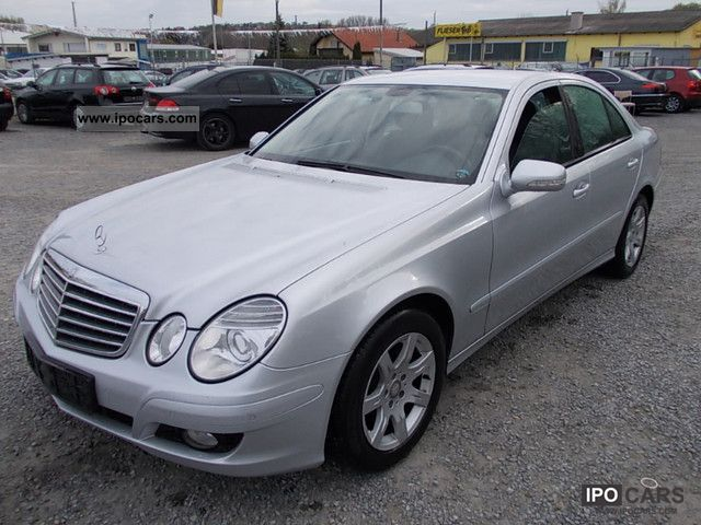 2009 mercedes benz e 220 cdi automatic lederausstatung car photo and specs. Black Bedroom Furniture Sets. Home Design Ideas