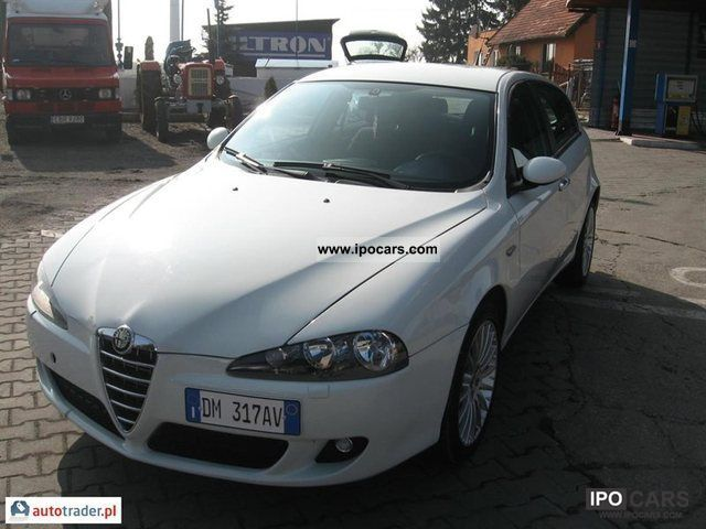 Alfa Romeo  147 2007 Liquefied Petroleum Gas Cars (LPG, GPL, propane) photo