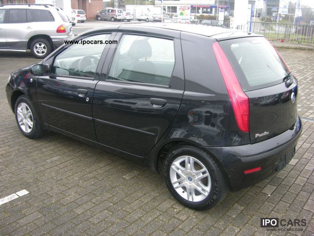 2004 fiat punto 1 3 multijet ciao 1 hand air euro 4 car photo and specs. Black Bedroom Furniture Sets. Home Design Ideas
