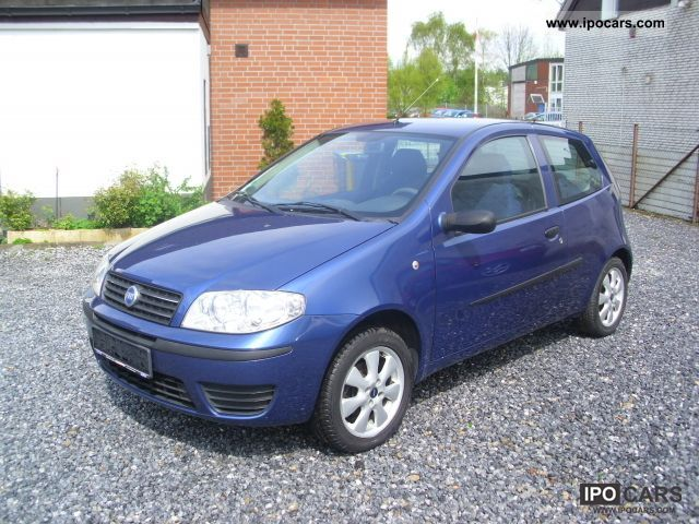 2003 fiat punto 1 2 8v air car photo and specs. Black Bedroom Furniture Sets. Home Design Ideas