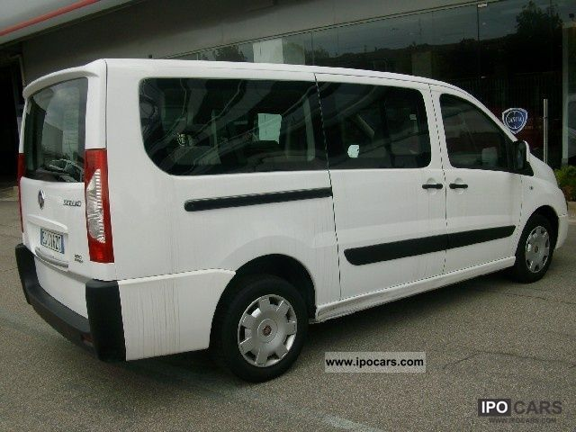 2011 fiat scudo panorama 8 posti car photo and specs. Black Bedroom Furniture Sets. Home Design Ideas