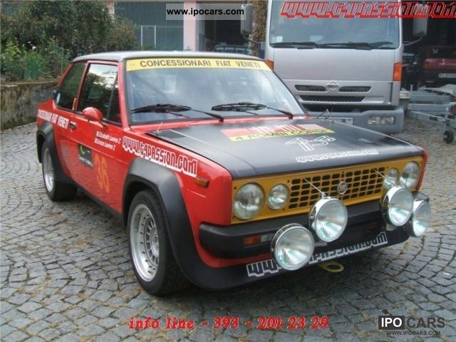 Fiat  131 Gr.2 Rally Storici ex 4 Rombi 1979 Race Cars photo