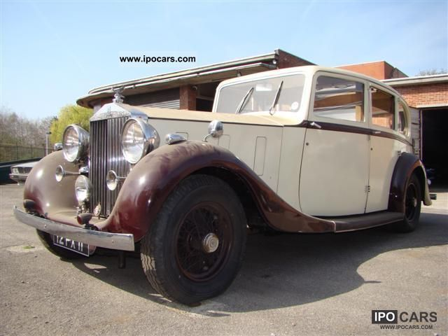 1937 Rolls Royce  III - Barn Find Limousine Classic Vehicle photo