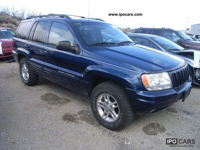 2000 Jeep GRAND CHEROKEE - Car Photo and Specs