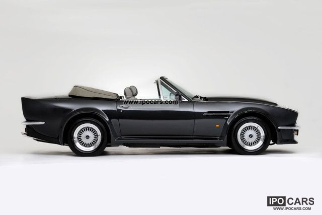 1989 Aston Martin V8 Vantage Volante X Pack Car Photo And Specs
