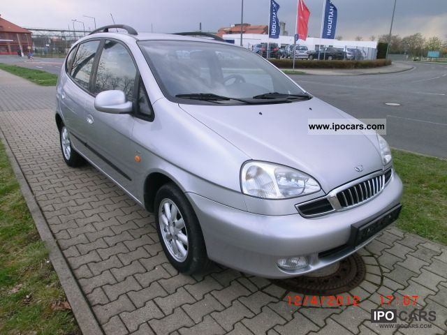 2001 Daewoo  Tacuma 2.0 CDX automatic climate control * manual * 2 * Van / Minibus Used vehicle photo