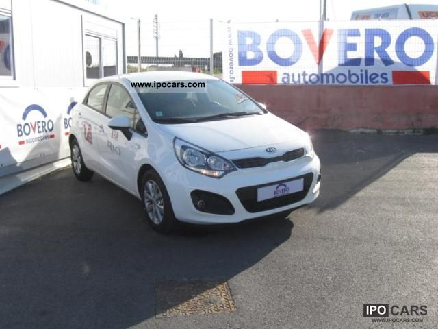 2012 Kia  Rio 1.4 CRDi Active 5p Limousine Used vehicle photo