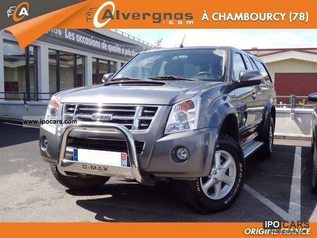 2009 Isuzu  D-MAX 4X4 SPACE CAB 3.0 TDI 163 LS BVA Off-road Vehicle/Pickup Truck Used vehicle photo