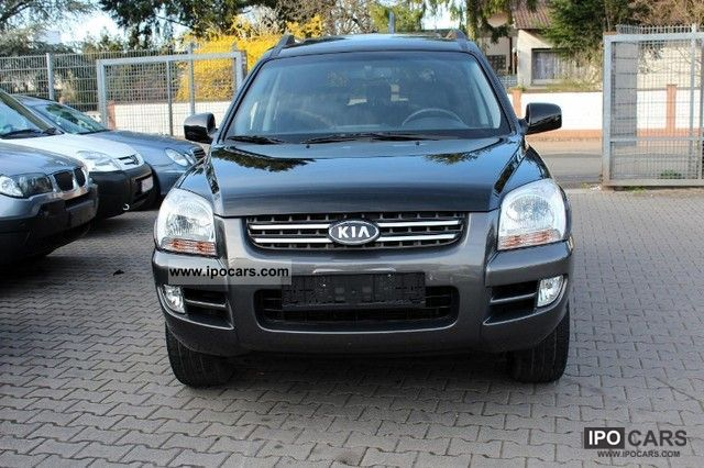 2007 Kia  Sportage 2.0 EX 4WD, air conditioning, leather, GSD, AHK Off-road Vehicle/Pickup Truck Used vehicle photo