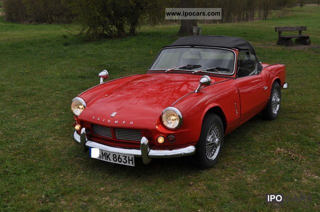 Triumph  Spitfire MK2 MK 2 classic cars 1963 Vintage, Classic and Old Cars photo