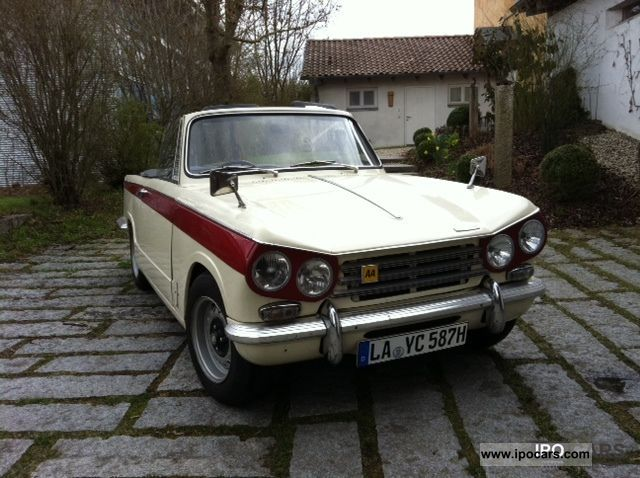 Triumph  Vitesse Mk II 1971 Vintage, Classic and Old Cars photo