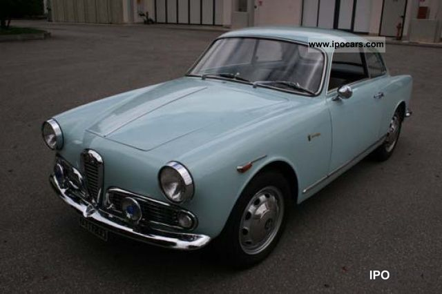 Alfa Romeo  Giulietta Sprint 1960 Vintage, Classic and Old Cars photo