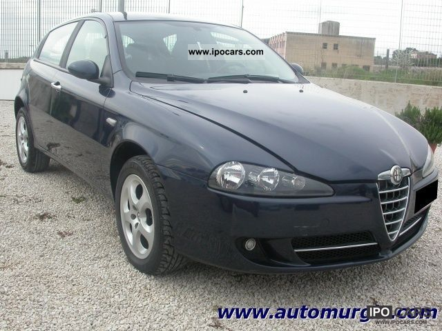 2008 alfa romeo 147 1 9 jtd 120 5 porte progression car photo and specs. Black Bedroom Furniture Sets. Home Design Ideas